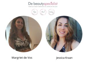 de Beautyspecialist - ons team - Margriet de Vos en Jessica Kraan